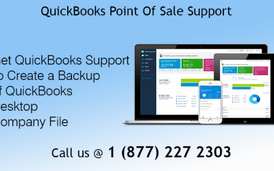 Create a Backup of QuickBooks Desktop Company File with QuickBooks Point of Sale Support