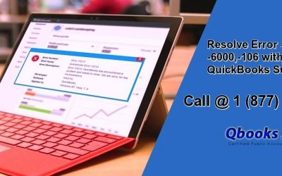 Resolve Error -6000, -82 or -6000, -106 with the help of QuickBooks Support