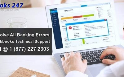Resolve All Banking Errors with the help of QuickBooks Support