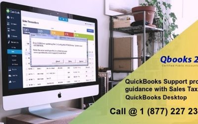 QuickBooks Support Provides Guidance with Sales Tax in QuickBooks Desktop