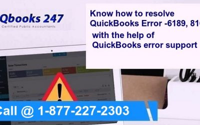 Call @ 1-800-290-0629 ! Know how to resolve QuickBooks Error -6189, 816
