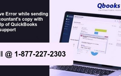 Resolve error while sending an accountant's copy with the help of QuickBooks error support