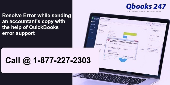 Resolve error while sending an accountant's copy with the