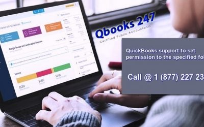 How to set permission to Quickbooks specified folder