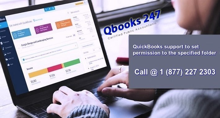 QuickBooks support to set permission to the specified folder