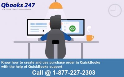 Know how to create and use purchase order in QuickBooks with the help of QuickBooks support