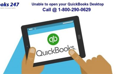 Call QuickBooks Support if you are unable to open your QuickBooks Desktop