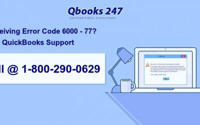 Call @ 1-800-290-0629  To Fix Quickbooks Error Code 6000 77