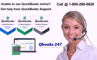 Unable to use QuickBooks online? Get help from QuickBooks Support